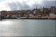 NZ8911 : Looking towards the Western side of Whitby by Chris Heaton