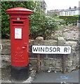 SD7213 : George VI postbox on Darwen Road by JThomas