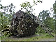 NY2516 : Bowder Stone by Anthony Foster