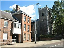TG2309 : St Martin at Palace Plain church by Evelyn Simak