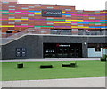 ST3187 : Entrance to Cineworld from Usk Plaza, Newport by Jaggery