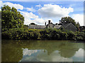 TQ3215 : Pond at Ditchling by Paul Gillett