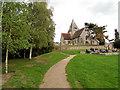 TQ3215 : St Margaret's Church, Ditchling by Paul Gillett