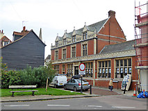 TM2632 : Former bank, King's Quay Street, Harwich by Robin Webster