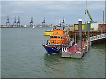 TM2532 : RNLB Albert Brown (17-03) at Harwich Lifeboat Station by Robin Webster