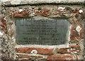 NS5285 : Memorial in memory of Gilbert J Innes Esq and Sir George Wilson KBE by Richard Sutcliffe