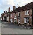 SU1660 : High Street houses, Pewsey by Jaggery