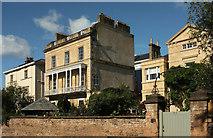 ST5673 : Houses on Canynge Square, Clifton by Derek Harper