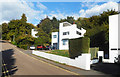 SU9697 : Sun Houses, Highover Park, Amersham by Des Blenkinsopp