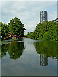 SK5803 : The River Soar in Leicester by Roger  Kidd