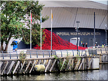 SJ8097 : Imperial War Museum North : Wave by David Dixon