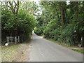 TQ4944 : Rectory Lane, near Chiddingstone by Malc McDonald