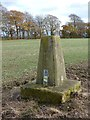 SU7535 : Candover trigpoint, near Alton, Hampshire - 181116 by John P Reeves