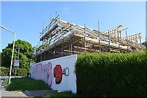 TQ5841 : New build, Cunningham Rd by N Chadwick