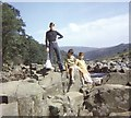 NY8728 : The Great Whin Sill, High Force (1970) by Stanley Howe