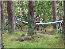 NT2840 : Cycle event, Falla Brae Glentress by Jim Barton