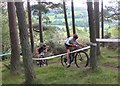 NT2840 : Cycle event, Falla Brae Glentress (2) by Jim Barton