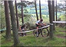 NT2840 : Cycle event, Falla Brae Glentress (2) by Jim Barton