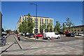 TL4657 : Cambridge: across Station Square by John Sutton