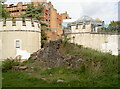 ST5973 : A multitude of uses on the old castle site by Neil Owen
