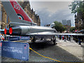 SJ8398 : RAF100: Eurofighter Typhoon at Albert Square by David Dixon