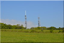 TQ6043 : Castle Hill transmitters by N Chadwick
