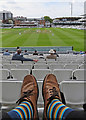 TQ2682 : Watching Derbyshire at Lord's by John Sutton