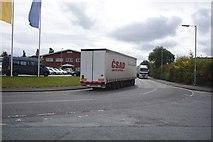 SJ5541 : Foreign Lorry by Bob Harvey