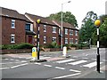 TG2109 : Zebra crossing on Old Palace Road by Evelyn Simak