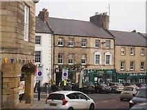NU1813 : Market Street, Alnwick by Richard Webb