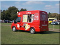 TL1998 : Ice cream van on The Embankment, Peterborough by Paul Bryan