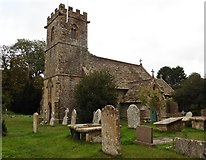 ST5308 : St Juthware and Mary Church, Halstock by Roger Cornfoot