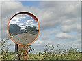 TM2453 : Roadside mirror by Adrian S Pye