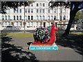 TQ2904 : Snailspace #08 Floral Clock by Paul Gillett