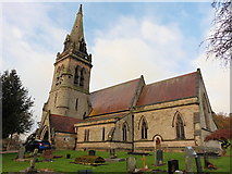 SK1820 : Dunstall, Staffordshire, St Mary by Dave Kelly