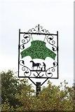 NU2118 : Pub sign, Rennington by Graham Robson