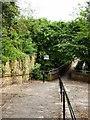 SJ8990 : Hatton Street footbridge by Gerald England