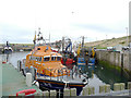 NT9464 : The Barclaycard Crusader at Eyemouth harbour by Stephen Craven