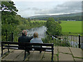 SD6179 : Admiring Ruskin's View, Kirkby Lonsdale by Robin Drayton