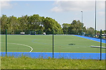 TQ6243 : All weather pitch, Kent College by N Chadwick