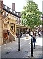 TL4558 : Sussex Street, Cambridge by David Hallam-Jones