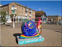 TQ3303 : Snailspace #49 Brighton Marina Square by Paul Gillett