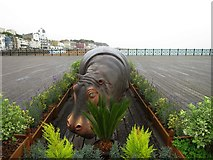 TQ8109 : Hippo on Hastings Pier by Oast House Archive