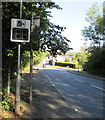 ST3391 : Your Speed indicator at the northern end of Caerleon by Jaggery