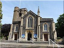TQ2160 : Epsom, Surrey, St Martin by Dave Kelly
