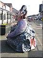 SJ3093 : Mermaid sculpture, Seabank Road, New Brighton by Graham Robson