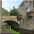 SD9851 : Mill Bridge, Springs Canal, Skipton by Robin Drayton