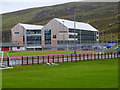 HU4641 : Anderson High School, Lerwick by David Dixon