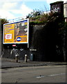 ST5871 : Clinton Road advertising board, Bedminster, Bristol by Jaggery