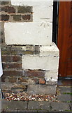 TL1897 : Benchmark on #62 Wharf Road by Roger Templeman